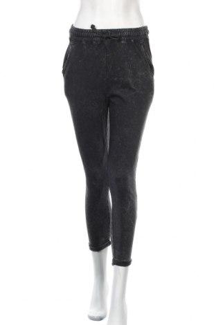 Дамско спортно долнище Pull&Bear, Размер S, Цвят Сив, Памук, Цена 30,24лв.