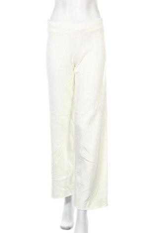 Дамско спортно долнище Roots, Размер S, Цвят Бял, 90% памук, 10% полиестер, Цена 22,05лв.