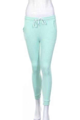 Дамско спортно долнище Sinsay, Размер XXS, Цвят Зелен, 70% полиестер, 30% памук, Цена 10,87лв.