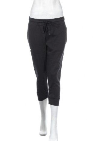 Дамско спортно долнище Under Armour, Размер M, Цвят Черен, 80% памук, 20% полиестер, Цена 74,25лв.