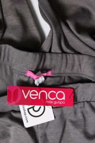 Дамско спортно долнище Venca, Размер M, Цвят Сив, 73% полиестер, 23% вискоза, 4% еластан, Цена 29,25лв.