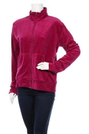 Дамско спортно горнище, Размер L, Цвят Розов, 95% полиестер, 5% еластан, Цена 14,28лв.
