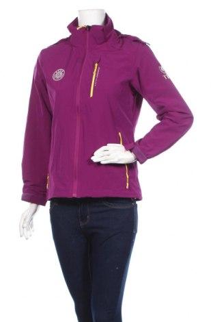 Дамско спортно яке, Размер L, Цвят Лилав, Цена 8,93лв.