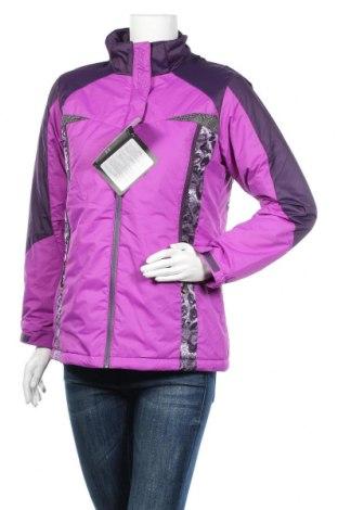 Дамско спортно яке, Размер L, Цвят Лилав, Полиестер, Цена 30,24лв.