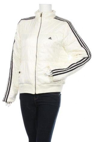 Дамско спортно яке Adidas, Размер XL, Цвят Бял, Полиестер, Цена 61,74лв.