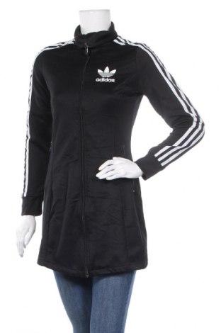 Дамско спортно яке Adidas Originals, Размер XS, Цвят Черен, 52% памук, 48% полиестер, Цена 48,30лв.