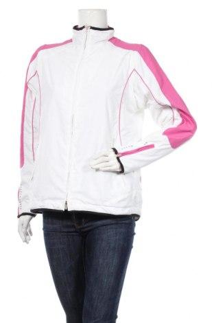 Дамско спортно яке Body Style, Размер L, Цвят Бял, Полиестер, Цена 27,67лв.