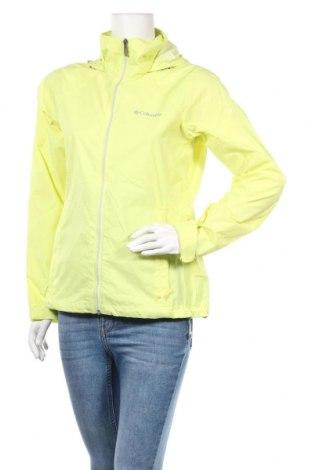 Дамско спортно яке Columbia, Размер S, Цвят Жълт, Полиамид, Цена 54,34лв.