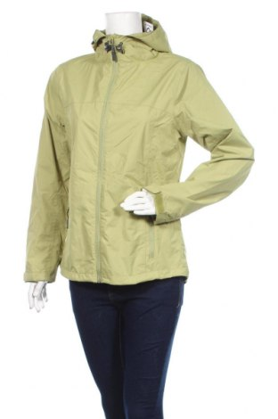 Дамско спортно яке Crane, Размер M, Цвят Зелен, Полиестер, Цена 15,12лв.
