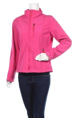 Дамско спортно яке Crane, Размер M, Цвят Розов, 90% полиестер, 10% еластан, Цена 17,90лв.