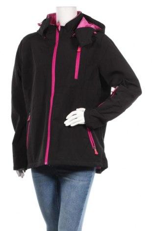 Дамско спортно яке Janina, Размер XL, Цвят Черен, Цена 26,46лв.