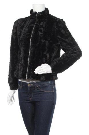 Дамско яке Pull&Bear, Размер M, Цвят Черен, Полиестер, Цена 24,57лв.