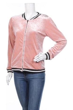 Дамско спортно горнище Refuge, Размер S, Цвят Пепел от рози, Полиестер, Цена 25,99лв.