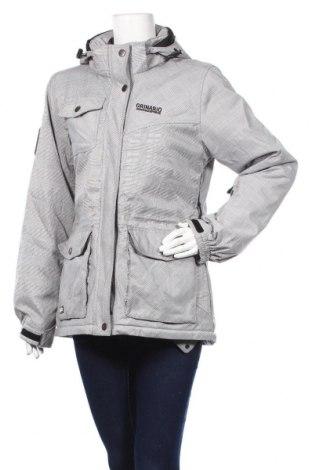 Дамско яке за зимни спортове, Размер L, Цвят Сив, Цена 36,59лв.