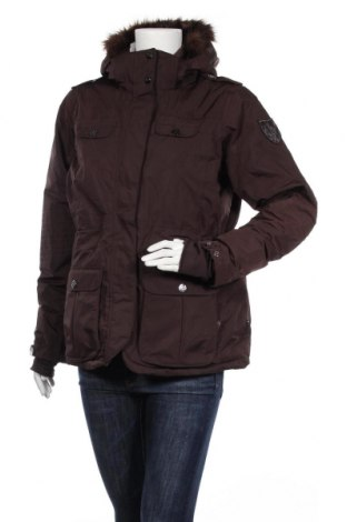 Дамско яке за зимни спортове Arctic Queen, Размер L, Цвят Кафяв, Полиестер, Цена 30,24лв.