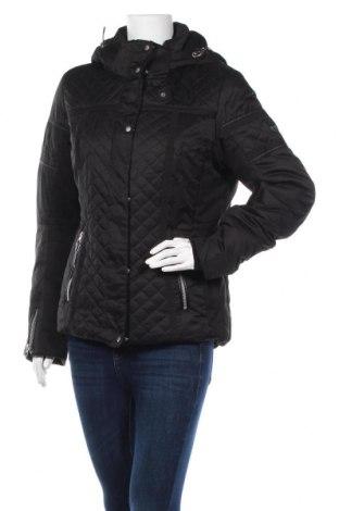 Дамско яке за зимни спортове Icepeak, Размер L, Цвят Черен, Полиестер, Цена 58,91лв.