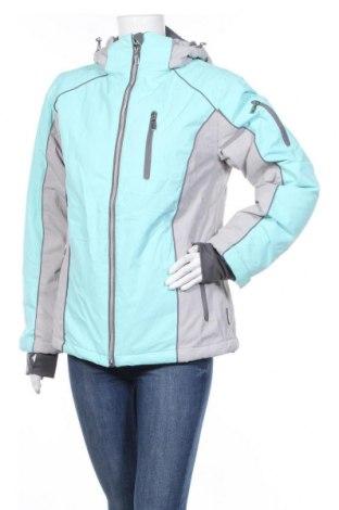 Дамско яке за зимни спортове Janina, Размер M, Цвят Син, Полиестер, Цена 53,92лв.