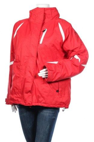 Дамско яке за зимни спортове Mountain Way, Размер XXL, Цвят Червен, Полиестер, Цена 73,92лв.