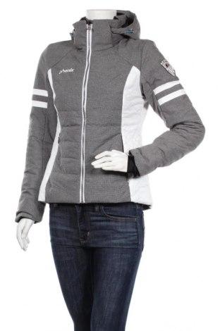 Дамско яке за зимни спортове Phenix, Размер S, Цвят Сив, 74% полиамид, 26% полиестер, Цена 97,02лв.