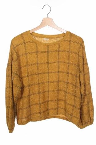 Детска блуза Zara Kids, Размер 11-12y/ 152-158 см, Цвят Зелен, Цена 20,79лв.