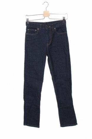 Детски дънки Faded Glory, Размер 15-18y/ 170-176 см, Цвят Син, 98% памук, 2% еластан, Цена 9,56лв.