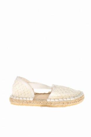 Εσπάδριλλες Zara, Μέγεθος 18, Χρώμα Λευκό, Κλωστοϋφαντουργικά προϊόντα, Τιμή 3,57€