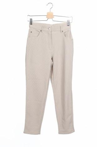 Παιδικό παντελόνι Ek, Μέγεθος 14-15y/ 168-170 εκ., Χρώμα  Μπέζ, 97% πολυεστέρας, 3% ελαστάνη, Τιμή 12,70€