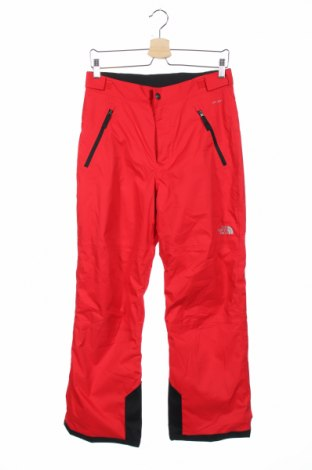 Детски панталон за зимни спортове The North Face, Размер 14-15y/ 168-170 см, Цвят Червен, Полиестер, Цена 45,68лв.