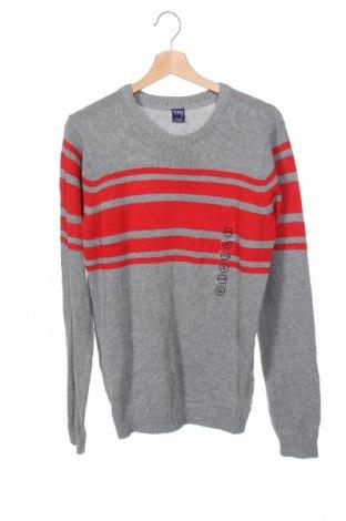 Детски пуловер Y.F.K., Размер 15-18y/ 170-176 см, Цвят Сив, 70% памук, 30% полиестер, Цена 30,03лв.