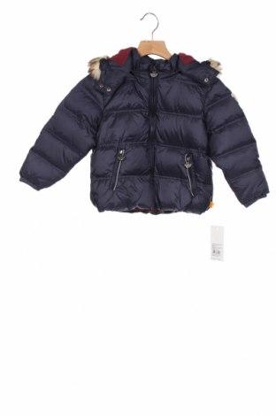 Детско яке Steiff, Размер 2-3y/ 98-104 см, Цвят Син, Полиамид, Цена 87,72лв.