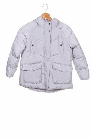 Детско яке Zara Kids, Размер 9-10y/ 140-146 см, Цвят Сив, Полиестер, Цена 36,40лв.