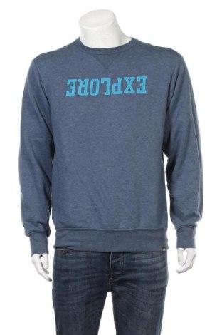 Мъжка блуза The North Face, Размер M, Цвят Син, 53% памук, 47% полиестер, Цена 36,86лв.