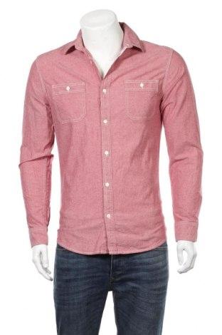Мъжка риза Adamsville, Размер S, Цвят Розов, Памук, Цена 9,24лв.