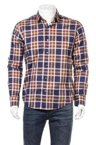 Мъжка риза Arthur Galan, Размер S, Цвят Многоцветен, 95% памук, 5% еластан, Цена 26,46лв.