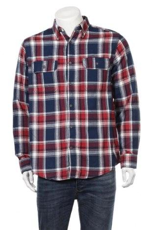 Мъжка риза Faded Glory, Размер M, Цвят Многоцветен, Памук, Цена 6,25лв.
