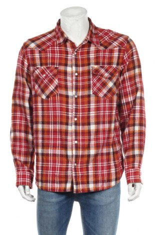 Мъжка риза Levi's, Размер XL, Цвят Многоцветен, Памук, Цена 26,93лв.