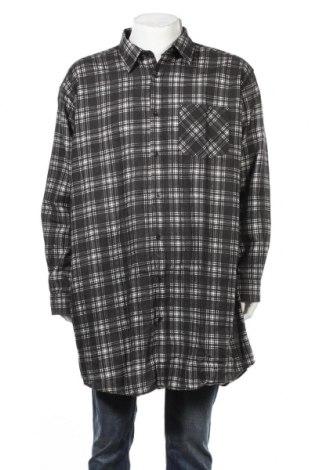 Мъжка риза Nkd, Размер 3XL, Цвят Черен, Памук, Цена 21,84лв.