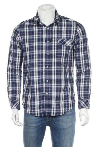 Мъжка риза People, Размер S, Цвят Многоцветен, Памук, Цена 14,33лв.