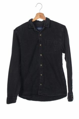 Мъжка риза Pull&Bear, Размер S, Цвят Сив, Цена 16,07лв.