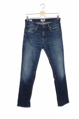 Мъжки дънки Tommy Hilfiger, Размер S, Цвят Син, 91% памук, 7% полиестер, 2% еластан, Цена 103,35лв.