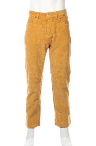 Мъжки джинси Arizona, Размер L, Цвят Жълт, 99% памук, 1% еластан, Цена 19,11лв.