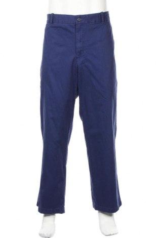 Мъжки панталон Izod, Размер XL, Цвят Син, Памук, Цена 22,68лв.