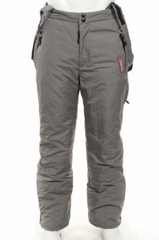 Мъжки панталон за зимни спортове Nkd, Размер L, Цвят Сив, Полиамид, полиестер, Цена 49,98лв.