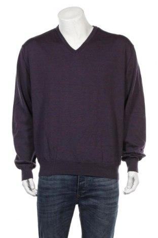 Мъжки пуловер A.W.Dunmore, Размер XL, Цвят Лилав, Вълна, Цена 15,23лв.