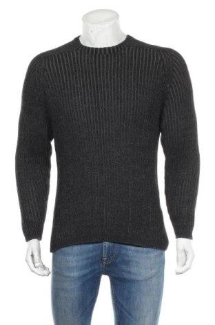 Мъжки пуловер Faded Glory, Размер M, Цвят Сив, Памук, Цена 12,76лв.