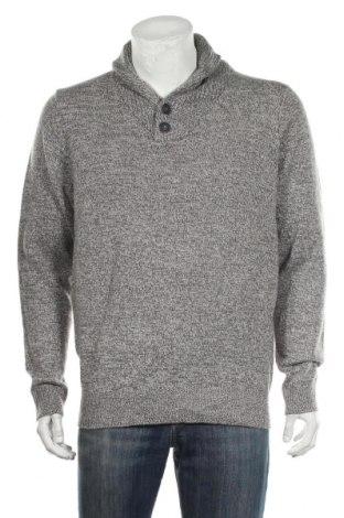Мъжки пуловер Hampton Republic, Размер L, Цвят Сив, Акрил, Цена 17,85лв.