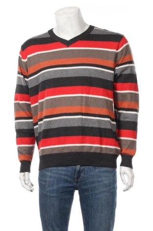 Мъжки пуловер Nkd, Размер XL, Цвят Многоцветен, 55% памук, 25% акрил, 15% полиамид, 5% вълна, Цена 19,69лв.