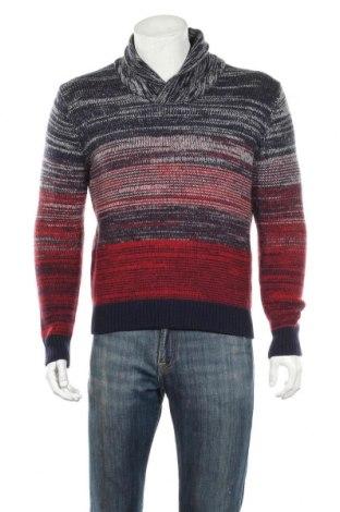 Мъжки пуловер Tommy Hilfiger, Размер L, Цвят Многоцветен, 100% вълна, Цена 51,87лв.
