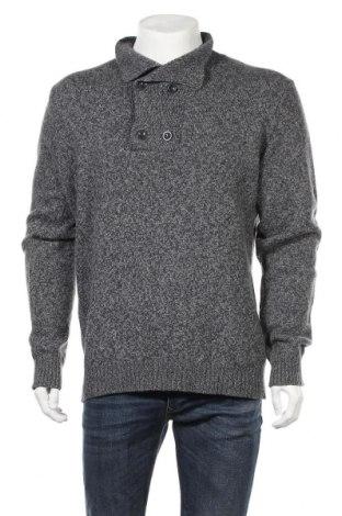 Мъжки пуловер United Colors Of Benetton, Размер XL, Цвят Син, Вълна, Цена 35,91лв.