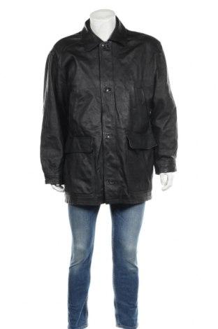 Мъжко кожено яке Arizona, Размер XL, Цвят Черен, Естествена кожа, Цена 34,02лв.